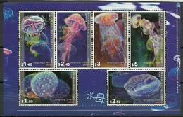 Hong Kong 2008 Mi Bl 189 MNH ( ZS9 HNKbl189dav38A ) - Meereswelt