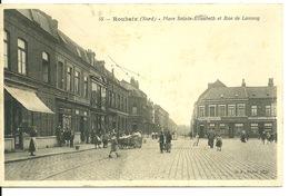 59 - ROUBAIX / PLACE SAINTE ELISABETH ET RUE DE LANNOY - Roubaix