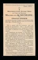 ADEL NOBLESSE  :  CELESTINE JOORIS    TONGEREN 1922   87 JAAR OUD - Décès