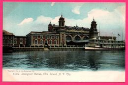 New York - Immigrant Station - Ellis Island - THE ROTOGRAPH Co - Ellis Island