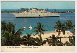 NASSAU  BAHAMAS    CRUISE  SHIP  HARBOUR                  (VIAGGIATA ) - Bahamas