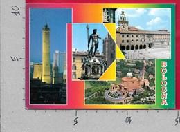 CARTOLINA VG ITALIA - BOLOGNA - Vedutine Multivue - 10 X 15 - ANN. 2000 TARGHETTA FILATELIA - Udine