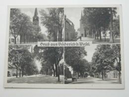 BÜDERICH Bei Wesel  Schöne Karte Um 1954   Mit Marke +  Stempel - Allemagne