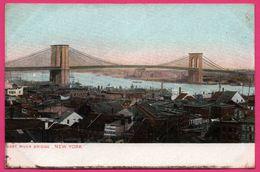 New York - East River Bridge - Pont - Bateau - Ponts & Tunnels