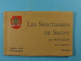 12 Cp De Sugny Carnet Les Sanctuaires De Sugny Par Bouillon - Vresse-sur-Semois