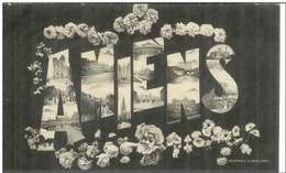 Cpa 80 Amiens , Multivues , écrite 1919 - Amiens