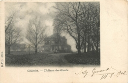 CHATELET CHATEAU DES GAULX 1902 - Châtelet