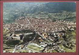 11 L'AQUILA - PANORAMA E CAMPO SPORTIVO - STADIO - CALCIO - L'Aquila