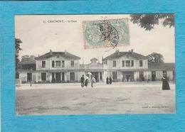 Chaumont, 1905. - La Gare. - Chaumont