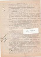 """Statuts 4 Pages Association ORPHELINAT """"Sainte Thérèse De Montbozon / 70 - France"""