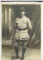 Cpa Carte Photo Militaire 91° Régiment , Lieu à Déterminer , Non écrite - Guerre 1914-18