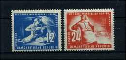 DDR 1950 Nr 273-274 Postfrisch (108802) - Ohne Zuordnung