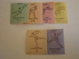 TIMBRE DE YOUGOSLAVIE CAT MICHEL N°698/703 MNH - 1945-1992 Socialist Federal Republic Of Yugoslavia