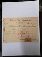 PORTUGAL BAZAR PHOTOGRAPHICO RUA 31 JANEIRO PORTO  30/SET/1915 - Portugal