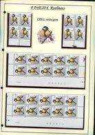 Belgie 2966 CPFL Buzin Vogels Birds Feuille De Collection Numéro De Planche Plaatnummer Drukdatum - 1985-.. Birds (Buzin)