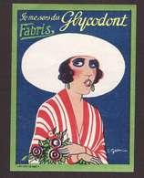 VIGNETTE Pub Publicité Dentifrice Je Me Sers Du Glycodont Fabris Illustration Illustrateur 5,8x7,8cm - Altri