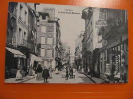 CPA - LISIEUX - LA RUE PONT MORTAIN - Lisieux