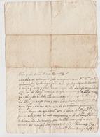 1777 - Lettera Manoscritta Sulla Cessione Di Alcuni Terreni (Luogo: Sardegna, Lingua: Spagnolo). - Manoscritti