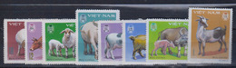 VIET-NAM       1979     Animaux Domestique        N°   154 / 161      COTE      7 € 70      ( Q144 ) - Vietnam