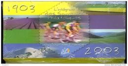 FRANCE Souvenir 2003 Série Compléte Intégral Tour De France **  Un Souvenir Par étape - Souvenir Blocks