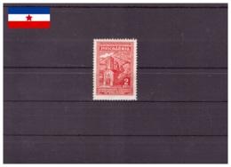 Yougoslavie 1945 - MH* - Monastères - Michel Nr. 458 Série Complète (yug556) - Neufs