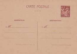 ENTIER STATIONERY FRANCE - Stamps