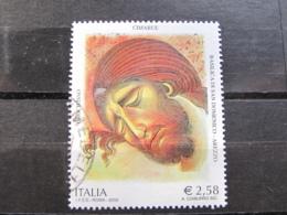 ITALIA USATI 2002 - 7° CENTENARIO MORTE CIMABUE - SASSONE 2633 - LUSSO - 6. 1946-.. Repubblica