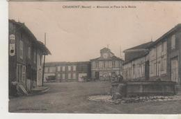 CHARMONT -Abreuvoir Et Place De La Mairie - France