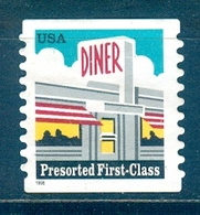 USA, 1998 Issue - Prematasellado