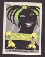 VIGNETTE Glycodont Dentifrice 59 Faubourg Poissonniere Paris Pub Publicité Illustration Illustrateur 5,8x7,8cm - Altri