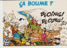 CP - ASTERIX - CA BOUME - BLOING BLOING - 1999 - ALBERT RENÉ - GOSCINNY - UDERZO - CARTOON - Comics