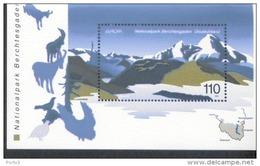 Bund Block 47 Nationalpark Berchtesgaden (5 Stück)  Postfrisch MNH ** Neuf - Blocs