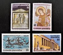 ATHENES CAPITALE CULTURELLE DE L'EUROPE 1985 - NEUFS ** - YT 1576/79 - MI 1594/97 - Griechenland