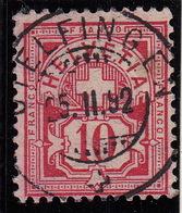 Otelfingen 5.12.1892 Rund-Voll-Stempel. Luxus Qualität - Postmark Collection