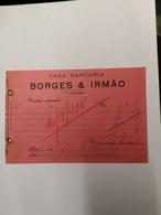 PORTUGAL CASA BANCARIA BORGES E IRMÃO - Portugal
