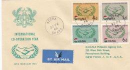 Ghana FDC 1965 International Co-operation Year   (005) - Ghana (1957-...)