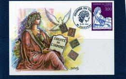 Carte Maximum - 3052 Journée Du Timbre 1997 (Eaubonne) - 1990-99