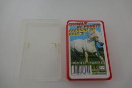 Speelkaarten - Kwartet, Paarden En Pony's / Cheveaux Et Poneys, Hemma, *** - - Cartes à Jouer Classiques