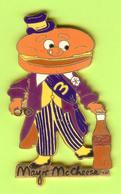 Gros Pin's Coca-Cola Mac Do McDonald's Mayor Mc Cheese (Ancien Personnage) RARE - 2BB03 - Coca-Cola