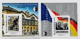 Lot Des 2 Blocs CNEP Salon D'automne 2017, Neufs, TB, Voir Photo - CNEP