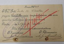 PORTUGAL CENTRO BENEFICENTE ESCOLAR LORDELO DO OURO 1915 - Portugal