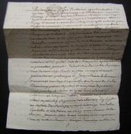 1781 Généralité De Poitiers Saintonge Chizé Vente Par Louis Doray Et Son épouse à Jacques Menon - Manuscrits