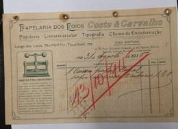 PORTUGAL PAPELARIA COSTA E CARVALHO PAPELARIA DOS LOIOS - Portugal