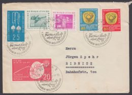 "Mi-Nr.721 I, Plattenfehler Auf Sammlerbrief, Sst. ""Rostock"", 15.8.60 - DDR"