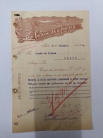 PORTUGAL CASTANHEIRA E FONSECA ANTIGA PRAÇA SANTA THERESA 3 OUT 1915 - Portugal