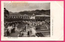 ST VINCENT - Market - Kingstown - Animée - Thomas Lawlor - WILSON'S ST. VINCENT SERIES - VENDOR PROUDFOOT ST VINCENT - Saint-Vincent-et-les Grenadines