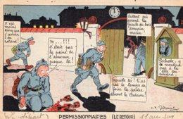 B54558 Militaire Humoristique - Humour