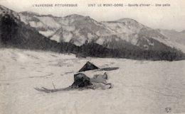 B54560 Le Mont Dore - Sports D'Hiver, Une Pelle - Le Mont Dore