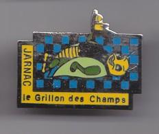 Pin's Jarnac  Dpt 16 Le Grillon Des Champs Charente Poitou Charentes  Réf 4096 - Cities