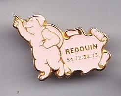 Pin's Cochon  Redouin Réf 4549 - Animaux